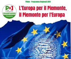 l'europa per il piemonte, il piemonte per l'europa