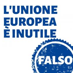 I FALSI MITI SULL'UNIONE EUROPEA