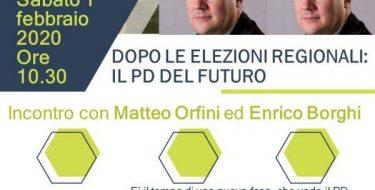 01/02 a Villadossola. Il PD del futuro. Incontro pubblico conMatteo OrfiniedEnrico Borghi.