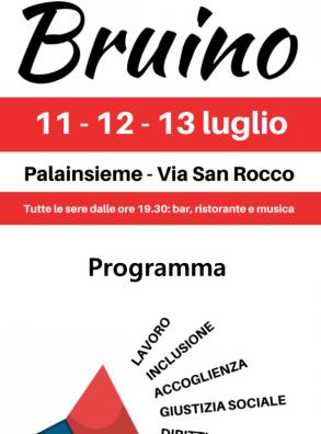 FESTA DE L'UNITA' DI BRUINO (11-13 LUGLIO)