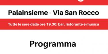 FESTA DE L'UNITA' DI BRUINO (11-13 LUGLIO 2019)