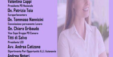 """PD Novara. """"Women New Deal. Il protagonismo delle donne per una nuova stagione"""" (diretta fb 15/12 ore 17,00)"""