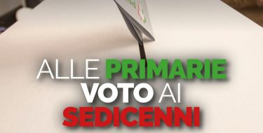 Alle primarie voto ai sedicenni
