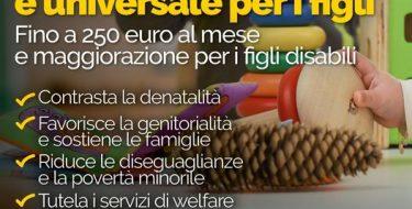 L'assegno unico per i figli. Dal PD una rivoluzione per l'Italia