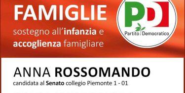 """23/02 Torino. Incontro """"Un Welfare per le famiglie"""". Con Anna Rossomando e Silvia Fregolent"""