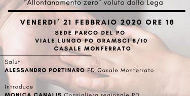 """21/02 Casale Monferrato. Incontro pubblico """"Insieme ai bambini e alle famiglie"""
