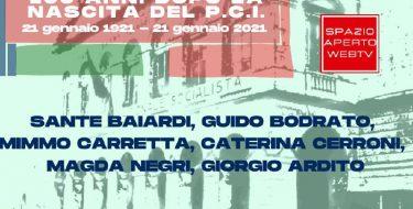 21/01 ore 18,30 – A cento anni dalla nascita del Partito Comunista Italiano