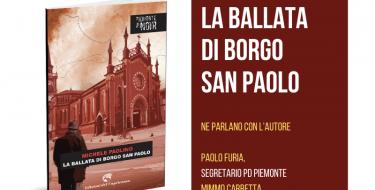 """21/01 Presentazione del libro """"LA BALLATA DI BORGO SAN PAOLO"""""""