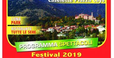 FESTA DE L'UNITA' DI CASELETTE (4-7 LUGLIO 2019)