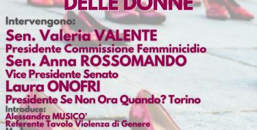 """""""Violenza di genere: i servizi e le politiche a favore delle donne"""" (Diretta streaming ve 6 novembre ore 21)"""