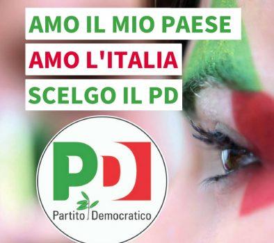 Amo il mio Paese. Amo l'Italia. Scelgo il PD