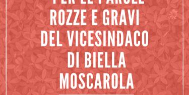Gruppo PD Biella: UMILIATI PER LE PAROLE ROZZE E GRAVI DEL VICESINDACO DI BIELLA
