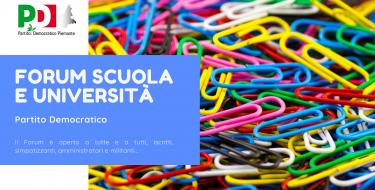 16/12 h 17,30 Forum Scuola e Università