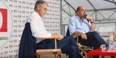 """Zingaretti: """"No alla scissione, un Pd unito serve alla democrazia italiana"""""""