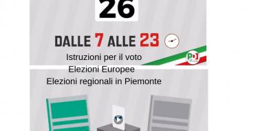 ELEZIONI DEL 26 MAGGIO: COME SI VOTA
