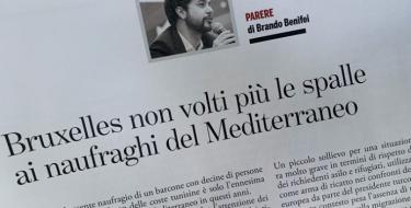 """Benifei: """"Bruxelles non volti più le spalle ai naufraghi del Mediterraneo"""""""