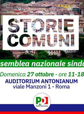 ASSEMBLEA NAZIONALE DEI SINDACI – ROMA, 27 OTTOBRE 2019
