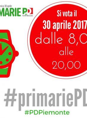 #primariePD – quando si vota