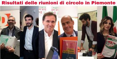 CONGRESSO 2019 – I risultati provvisori delle riunioni di circolo in Piemonte