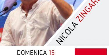 ZINGARETTI ALLA FESTA DE L'UNITÀ DI TORINO – DOMENICA 15/9 h 19,00