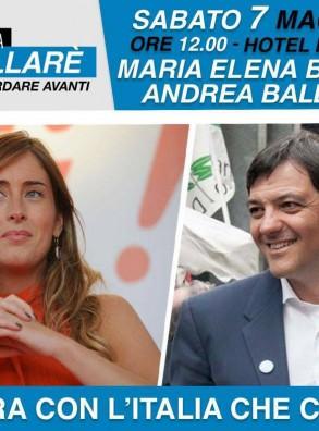 Andrea Ballarè sindaco – sabato 7 maggio 2016