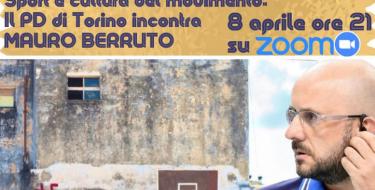 8/4  ore 21,00 – Sport e cultura del movimento – il PD Torino incontra Mauro Berruto
