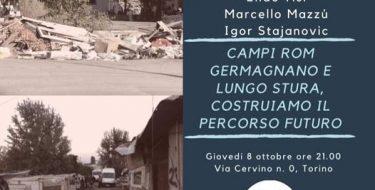 Campi Rom Germagnano e lugo Stura. Costruiamo il percorso futuro – PD Circolo 6 TO (8 ottobre 2020 ore 21)
