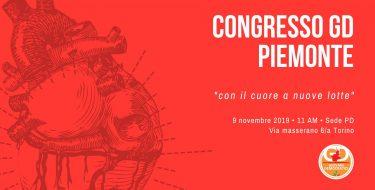 Congresso regionale dei Giovani Democratici del Piemonte