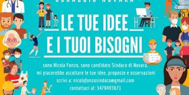 Novara: al via la campagna di Ascolto