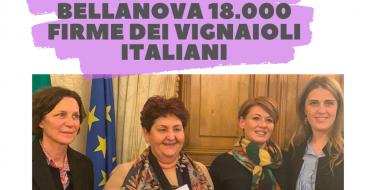 Dazi Usa, Gribaudo: consegnate a Bellanova 18.000 firme dei vignaioli italiani