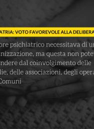 """Delibera psichiatria, Gariglio: """"Voto favorevole, ma vincolato a una serie di modifiche"""""""