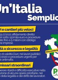 #DecretoSemplificazioni. Per un'Italia più giusta e competitiva, un'Italia più semplice