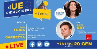 29/01 ore 18,00 – dUE chiacchiere a Torino