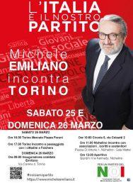 #Congresso2017 – Michele Emiliano a Torino