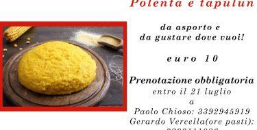 25/07 – Fagnana 2021 – Polentata e tapulun