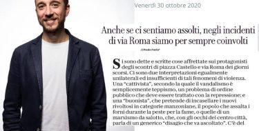 """Incidenti in Via Roma a Torino, Furia: """"Anche se ci sentiamo assolti, siamo per sempre coinvolti"""""""
