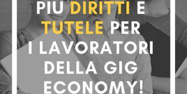Dal gruppo PD regionale e dalla coalizione la proposta di legge per tutelare il lavoratori della gig economy