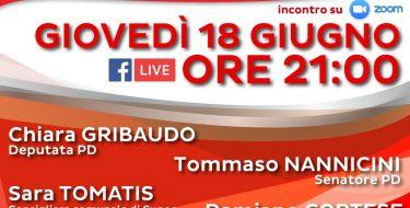 """""""Il nuovo volto del lavoro – smart working e nuovi diritti"""", con Gribaudo e Nannicini (18 giugno ore 21,00 su zoom e diretta FB)"""