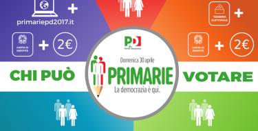 #PrimariePD2017 – Chi può votare