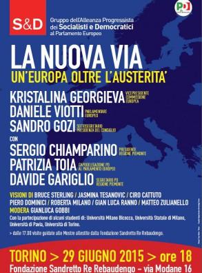 LA NUOVA VIA. UN'EUROPA OLTRE L'AUSTERITA'