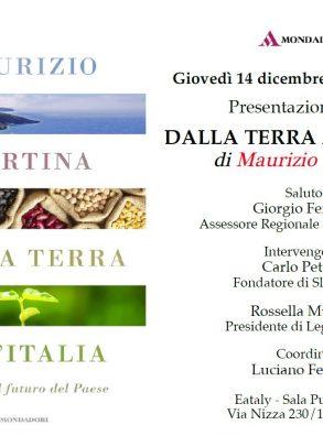 """Presentazione libro """"Dalla Terra all'Italia"""" di M. Martina"""