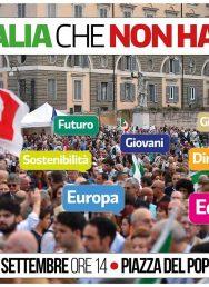 30 settembre manifestazione nazionale a Roma