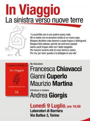 """Il segretario Martina alla presentazione del libro """"In Viaggio. La sinistra verso nuove terre"""""""