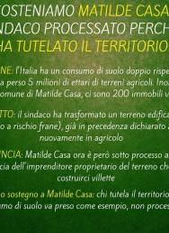 Gariglio: sosteniamo Matilde Casa