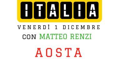 Renzi in Piemonte e Valle d'Aosta (1 dicembre 2017)