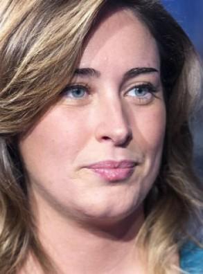 """La Ministra Maria Elena Boschi alla festa della """"Lucciola"""" di Villadossola (5 agosto)"""