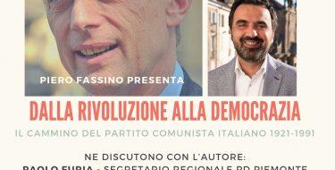12/4 ore 21 – Pd Moncalieri – Piero Fassino presenta il suo libro
