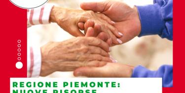 Regione Piemonte: nuove risorse per gli assegni di cura