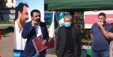 NUOVO OSPEDALE ASL TO5, MOBILITAZIONE DEL PD DI FRONTE ALLA SEDE ASL