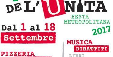 Festa de l'Unità Metropolitana Torino (1-18 settembre 2017)